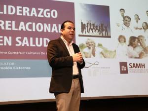 Instituto Relacional, en el Congreso del SAMH de Chile