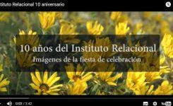 Vídeo del Instituto Relacional – 10 años mejorando las relaciones