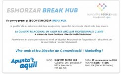 Conferencia de Joan Quintana en Break Hub: Calidad Relacional