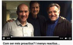 Joan Quintana habla sobre la proactividad en Catalunya Ràdio